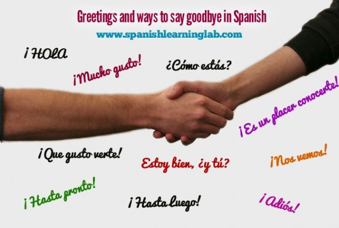 Using common Spanish greetings and farewells in simple conversations   Spanish Learning Lab