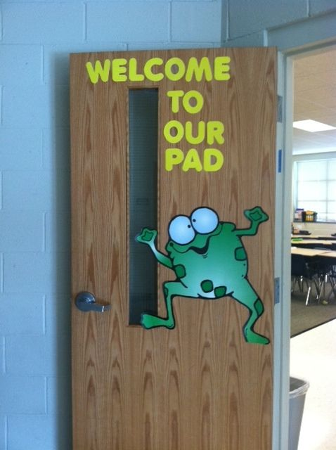 frog theme classroom decorations