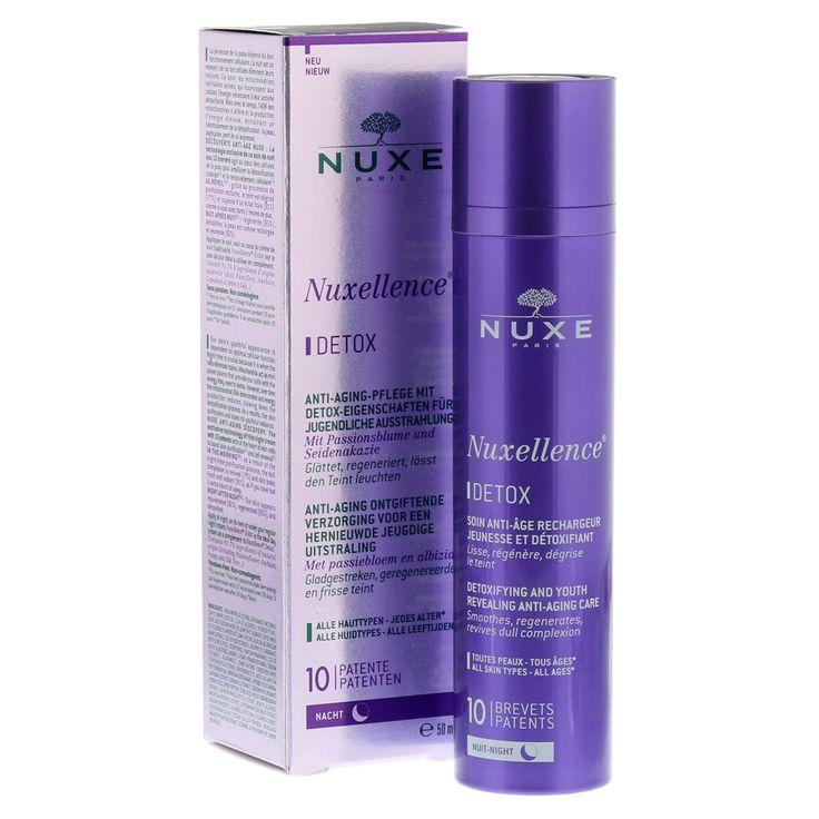 Nuxe Nuxellence Detox Αντιγηραντική Κρέμα-Ορός Νύχτας για Όλους τους Τύπους Επιδερμίδας Προσφορά -30% 50ml. Μάθετε περισσότερα ΕΔΩ: https://www.pharm24.gr/index.php?main_page=product_info&products_id=13672