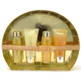 Gold As Good As Gold Luxury Oval Ladies Women Valentine Gift Set for Her