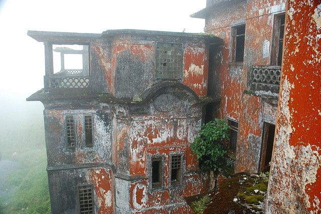 Bokor Hill Station by Damien @ Flickr, via Flickr, Ruins of a French Colonial Ghost Town, Cambodia via Messy Nessy Chic