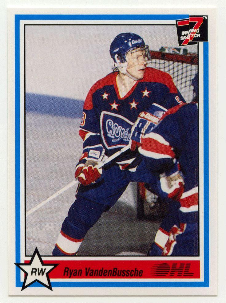 Ryan VandenBussche # 49 - 1990-91 7th Inning Sketch OHL Hockey