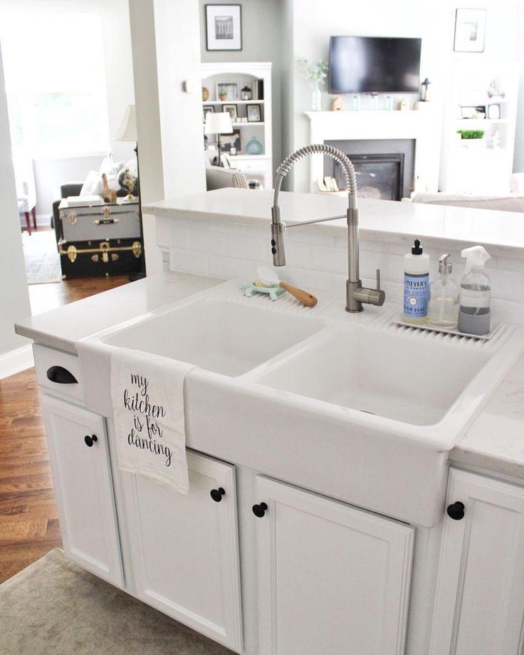 Ikea Domsjo Sink #farmhouse #sink #farmhousesink #ikea