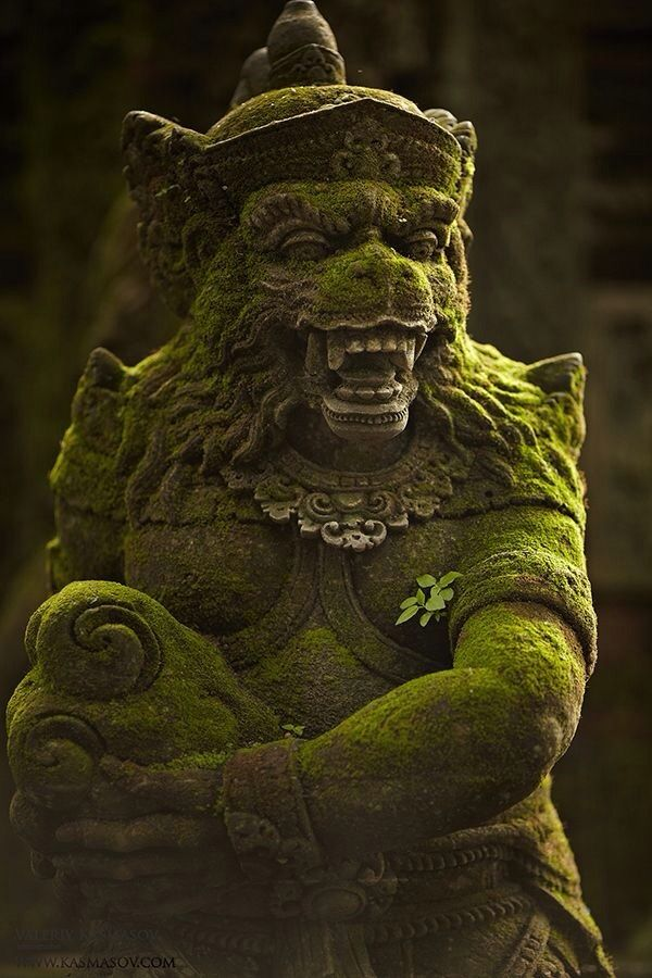Kala Ksetram : Bali...Indonasia.. (do you think they have space ships? Looks familiar... Wolf ,'', ^@@^ ,'', )