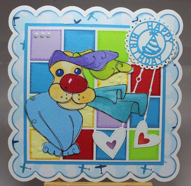 Les cartes de Blueberry: Happy Birthday dans le vent ...