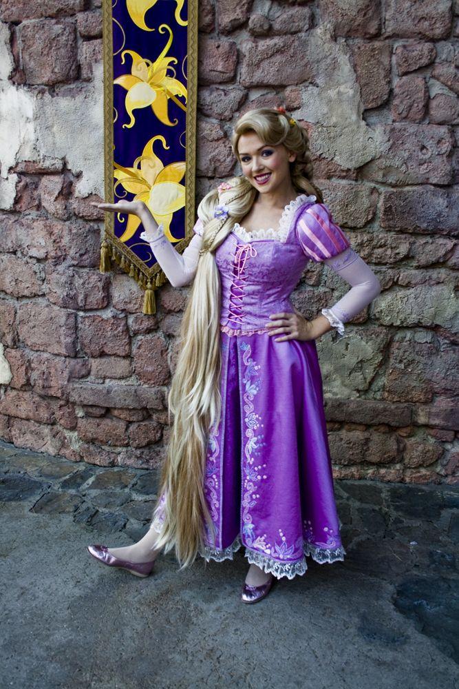 how to draw rapunzel full body