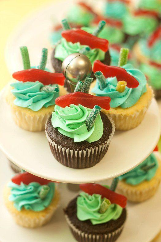 17 Best Ideas About Sea Cupcakes On Pinterest Mermaid
