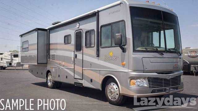 2007 Used Fleetwood Rv Bounder 35E Class A in Florida FL.Recreational Vehicle, rv,
