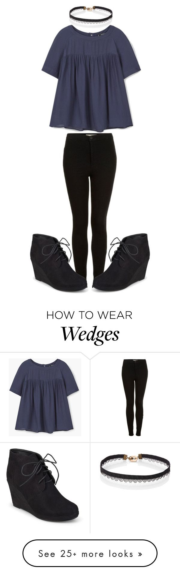 """""""Untitled #362"""" by sydthekyd01 on Polyvore featuring Topshop, MANGO and Journee Collection"""