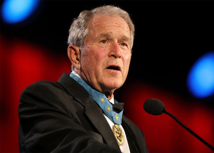 #GEORGEBUSH SPEAK ON #TRUMP ACTIONS #USA #NEWS #BREAKINGNEWS #LATESTUPDATES
