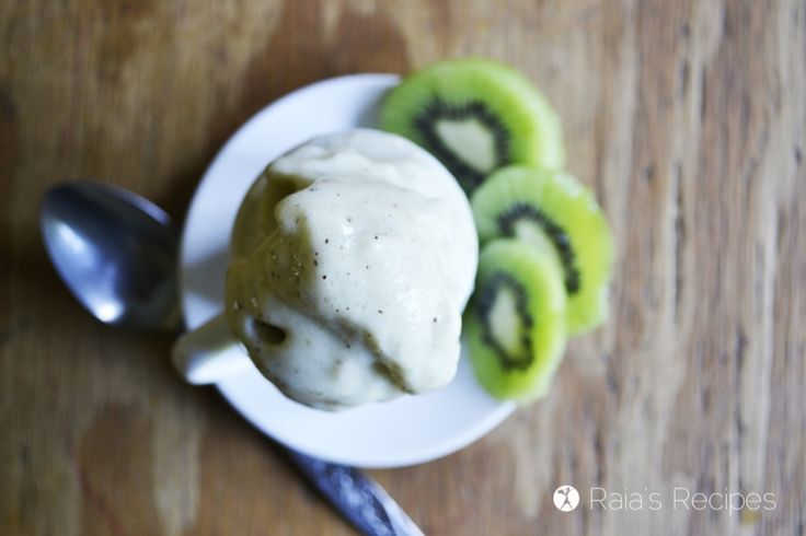 Honey Kiwi Soft Serve