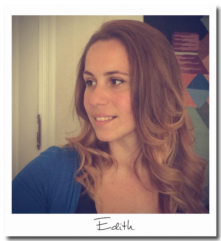 Edith Marroquín, nuestra profesora de Repaso Escolar.