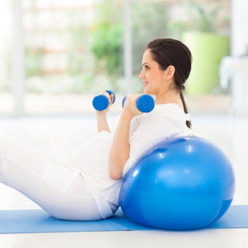 Exercices pour abdominaux pendant la grossesse