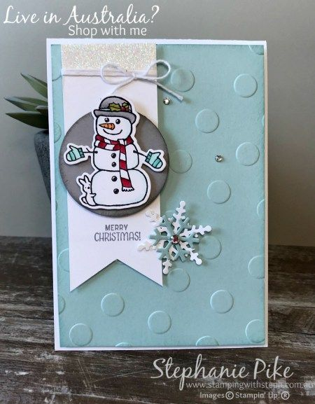 Seasonal Chums stamp set, for more information visit www.stampingwithsteph.com.au