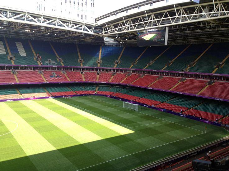 Millenium Stadium, prior to First Olympic Event, 25/07/12