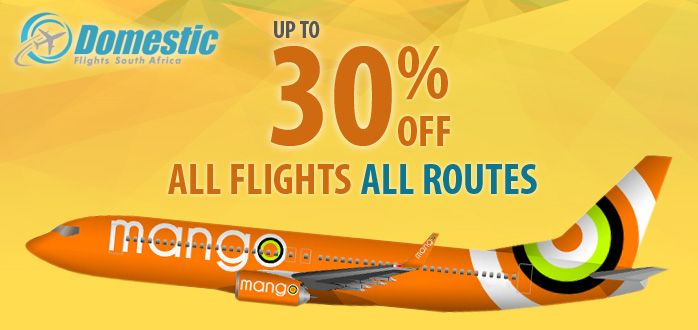 We provide the special offers for mango airlines to save you money today. Find the mango airlines Happy Days Sale and reach your destination safe and enjoy your journey.  Book online mango airlines flights just a single click here. https://www.domesticflights-southafrica.co.za/mango-airlines-happy-days-sale-25th-november-2015/
