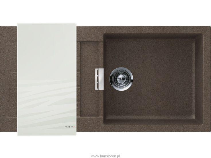 Signus D-100 L A Schock zlewozmywak granitowy 500x1000 brown - SIGD100LAWBRO  http://www.hansloren.pl/Zlewozmywaki-granitowe/Zlewozmywaki-1-komorowe/SCHOCK