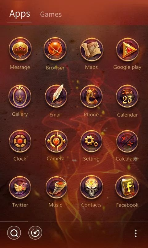 Donahue GO Launcher Theme- screenshot