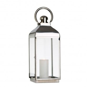 LANTERN SMALL  - SILVER Morgan & Finch