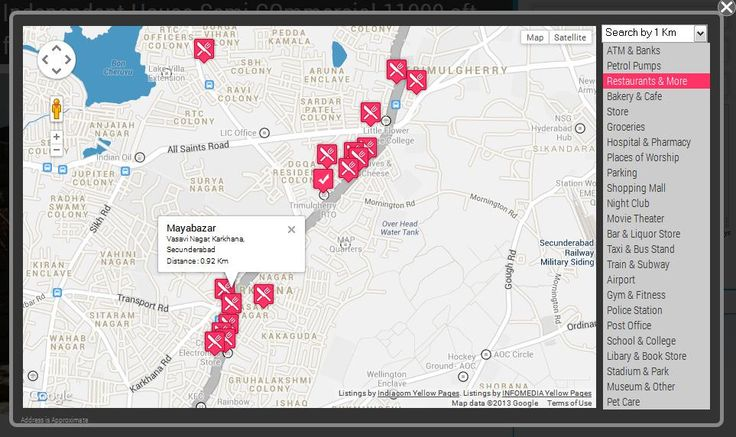 Find Hotels,hospital,schools ,airport using checkfloor.com map based search feature .