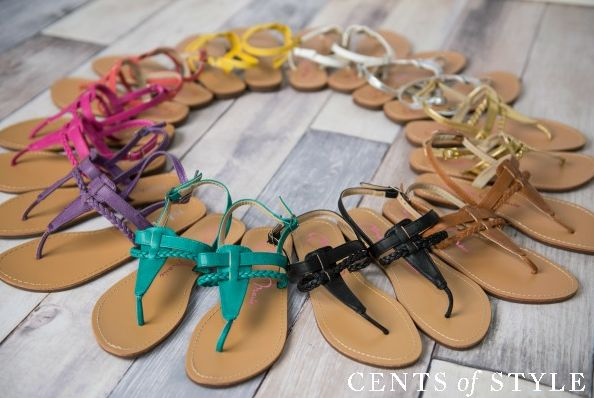 cents of style sandal sale one day only!