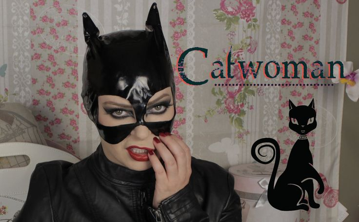 Maquillage Catwoman pour Halloween