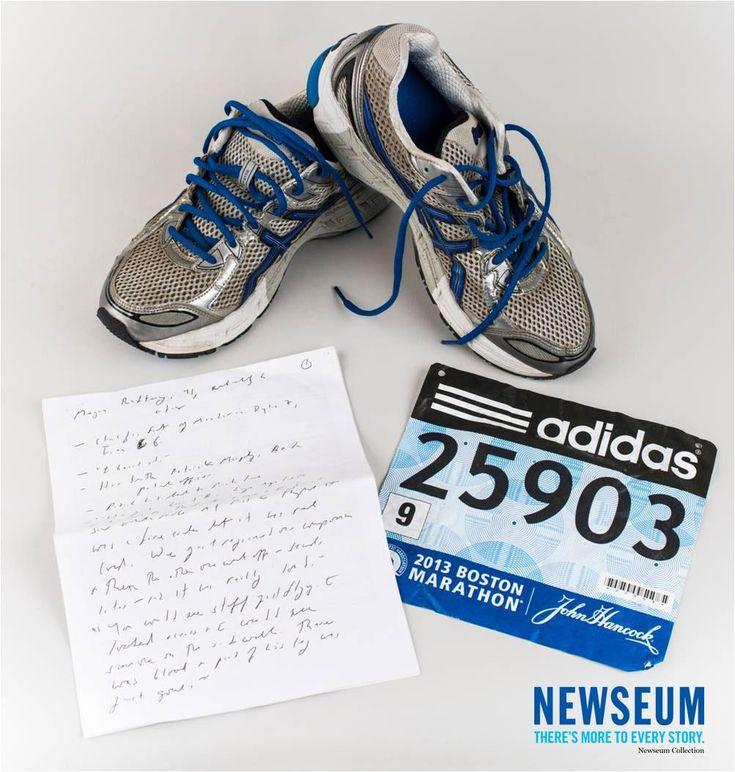 #OTD April 15, 2013 Bombs went off at the Boston Marathon finish line. Artifact via Michael Rezendes, The Boston Globe