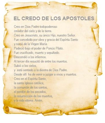 Credo De Los Apostoles CATOLICO | Third Millennium Ministries: Con una serie sumamente importante