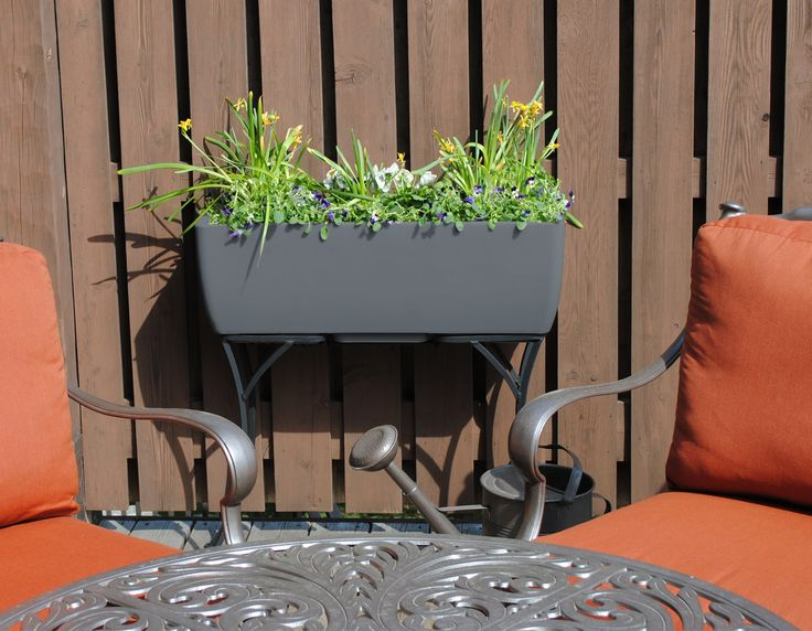 36x15 Graphite RTS Home Accents Elevated Planter