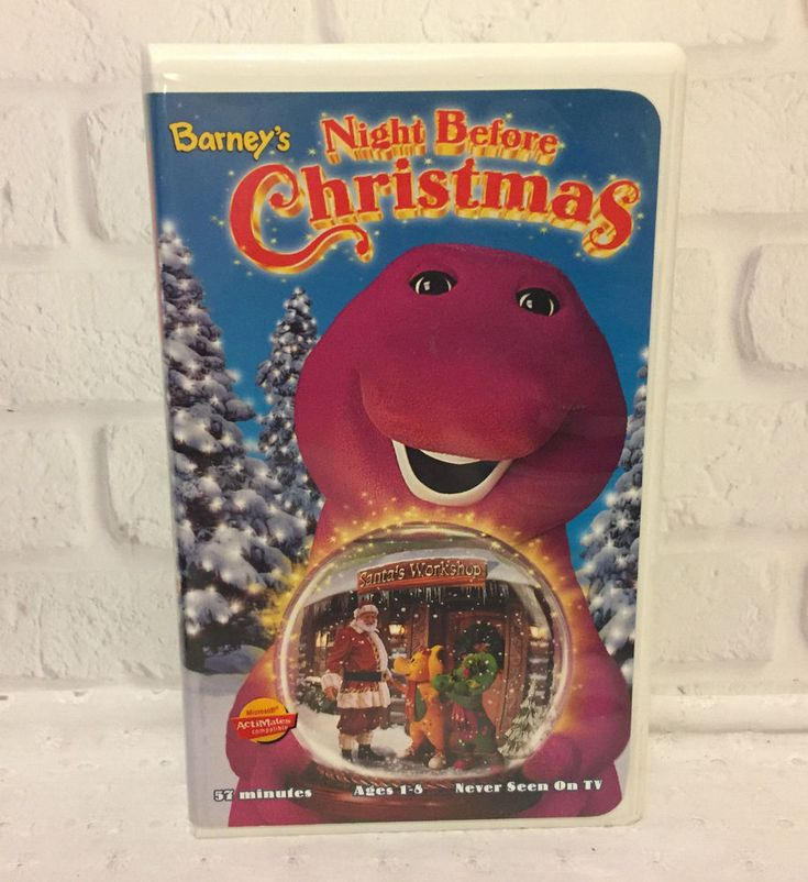 Barney's Night Before Christmas VHS 1999