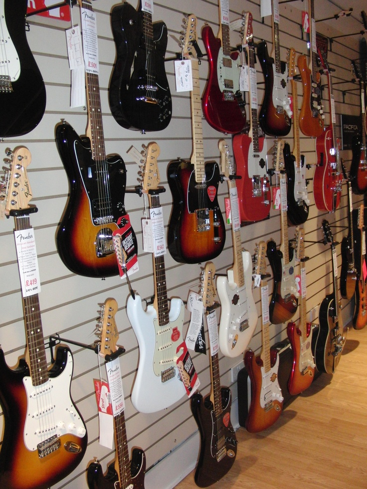 The Fender Wall (With images) | Music aesthetic, Music ...