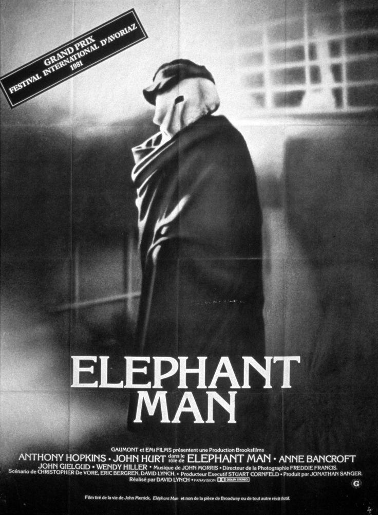 Elephant Man (The Elephant Man) est un film américain réalisé par David Lynch et sorti en 1980. Oscarisė pour le meilleur réalisateur et scénario en 1981. Ce film tourné en noir et blanc est une adaptation romancée de la vie de Joseph Merrick, appelé John dans le film, d'après la dénomination erronée tirée de la biographie du docteur Treves, surnommé « Elephant Man » (« l'homme-éléphant ») du fait de ses nombreuses difformités.