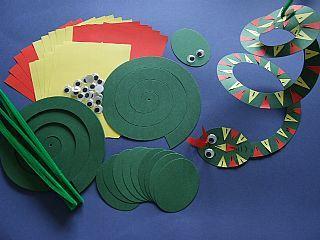 Egyptian Cobra crafts for children | ... Crafts for Kids, Wild & Jungle Animals, childrens crafts, kids craft