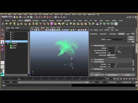 CGPedia - MAYA DISINTEGRATION EFFECT WITH NCLOTH - YouTube