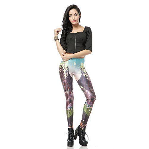 Meilleure vente hiver femmes imprimer collants leggings: Matériel: polyester 88 % et spandex 12 % Mode numérique imprime Taille: Taille…