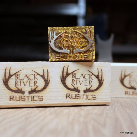 Wood Branding Iron with custom stamp with electric by vonHanke