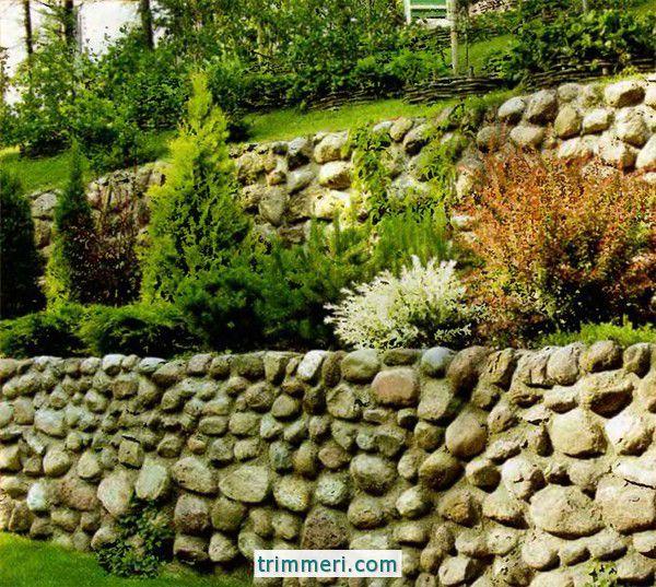 Как разбить сад на склоне?