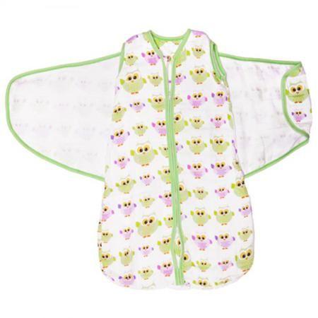 Спальный мешок GlorYes! (3-9 мес.) 2 в 1 Совы  — 1499р. -------- <p>Обеспечьте спокойный и безопасный сон вашему малышу с 3,5 до 9 месяцев с помощью спального мешка из <strong>нежного муслина</strong>. Мягкий и уютный, он обеспечивает <strong>свободное пеленание</strong>, не сковывая движений малыша. Спальный мешок понравится и папам как простой и быстрый способ свободного пеленания!</p>  <p><strong>Две функции мешка</strong>: пеленание и обычный спальный мешок. Чтобы запеленать, оберните…