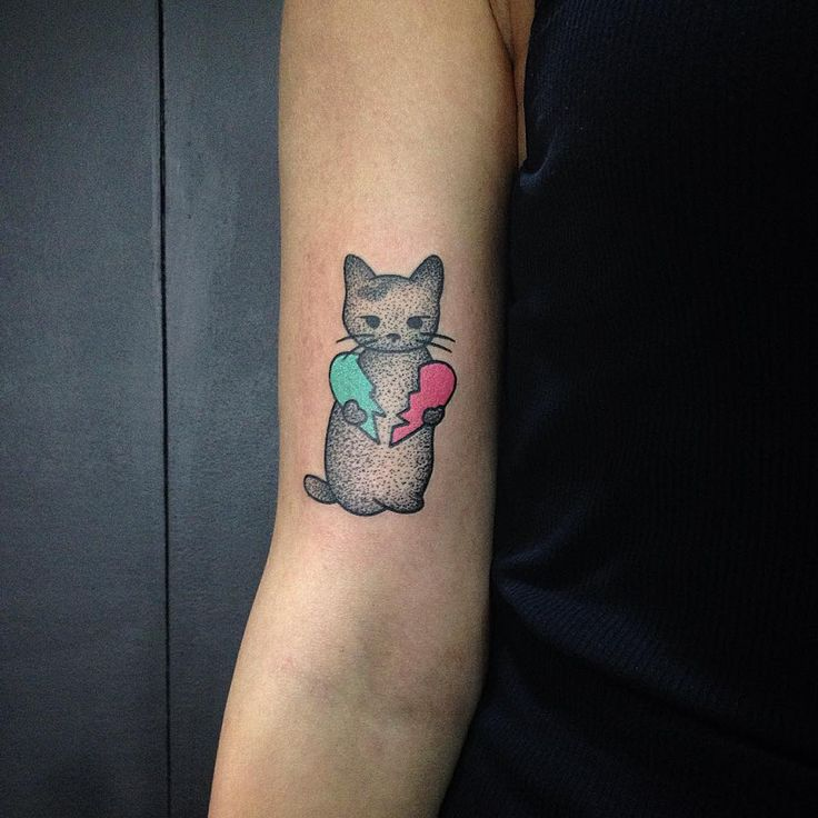 17 Best Ideas About Cute Cat Tattoo On Pinterest