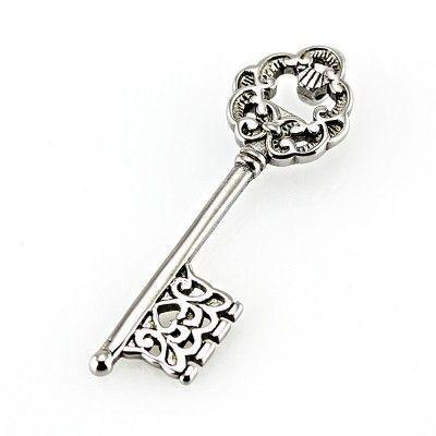 Ocelový přívěsek - Masterkey / Klíč (5829). Odkaz na WEBSHOP: http://www.ocelovesperky4u.cz/ocelove-privesky/5829-shiny-key-kicek-kic-ocel-316l