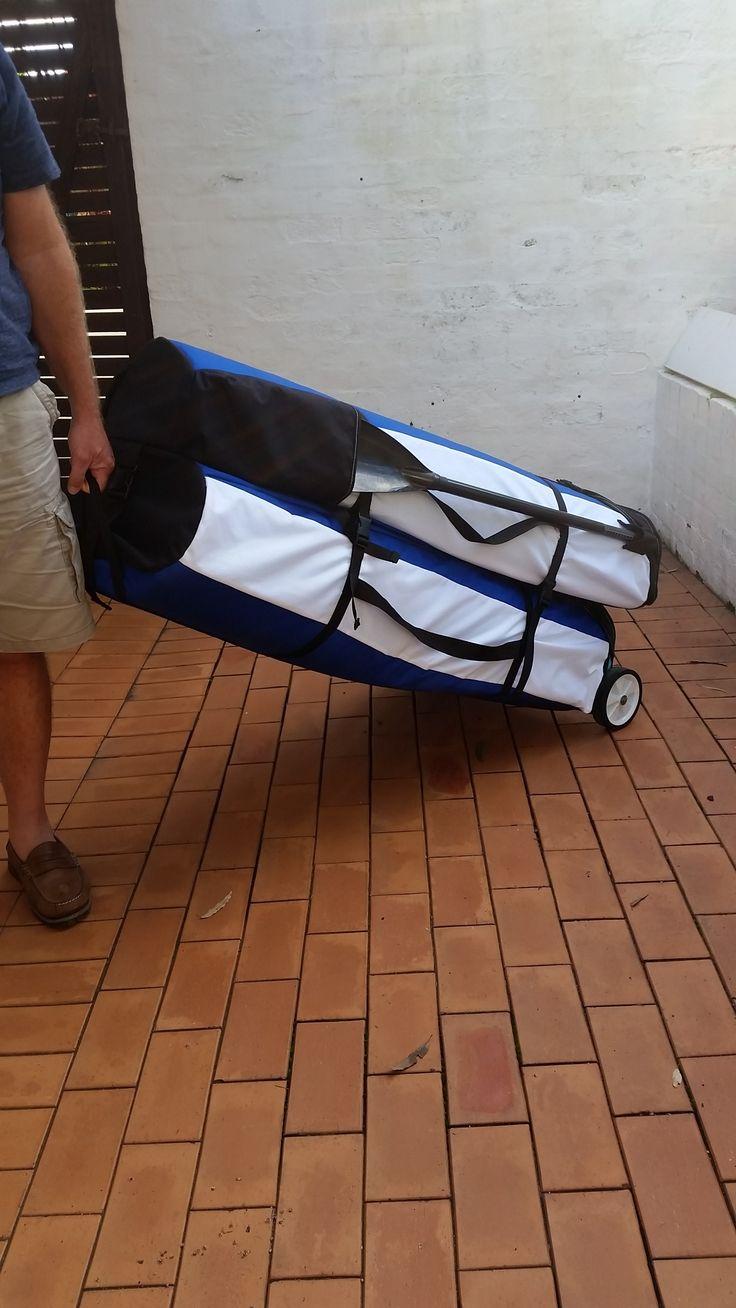 Switchblade Sea Kayak Ready to Go anywhere easily.