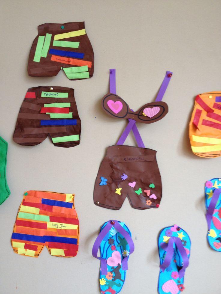 Zwembroek en bikini mijn klas 2013