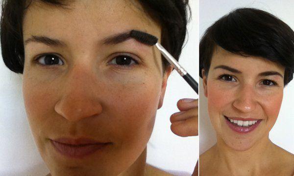 Perfekte #Augenbrauen? Es geht so einfach! Juli zeigt dir wie!