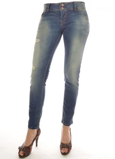 JEANS DAMES GEORGET 7/8 JEANS blauw LTB Jeans