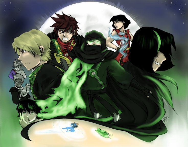 Ninjago - Season 5 by BubblesRRJ on DeviantArt << I FREAKING LOVE THIS PIC WTF DO I LOVE THIS SO MUCH
