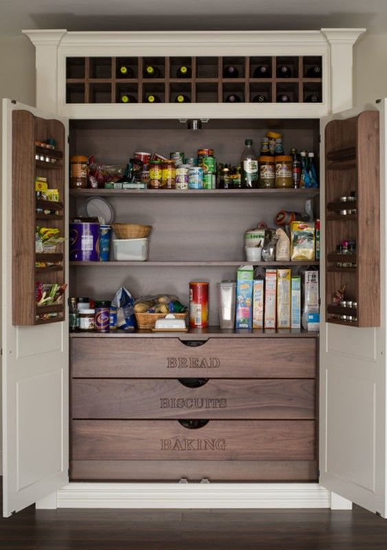 100+ Gorgeous Walk-In Kitchen Pantries for 2018