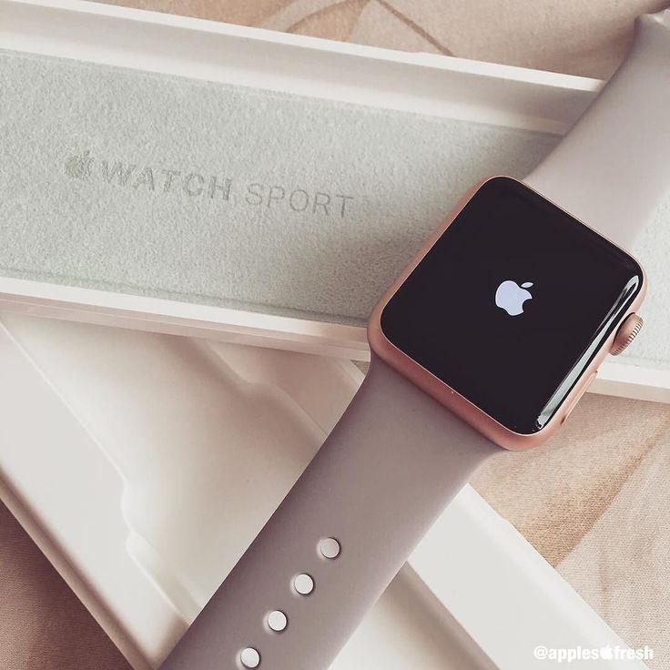 Apple Watch Sport 38mm Rose Gold #ApplesFresh #Apple #AppleWatch #Sport…