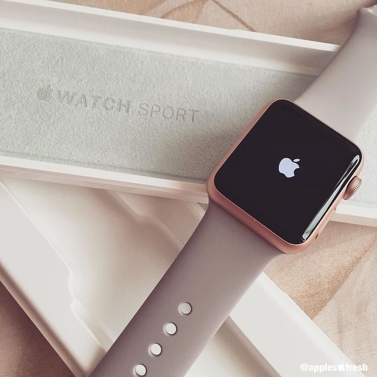 Apple Watch Sport 38mm Rose Gold #ApplesFresh #Apple #AppleWatch #Sport…