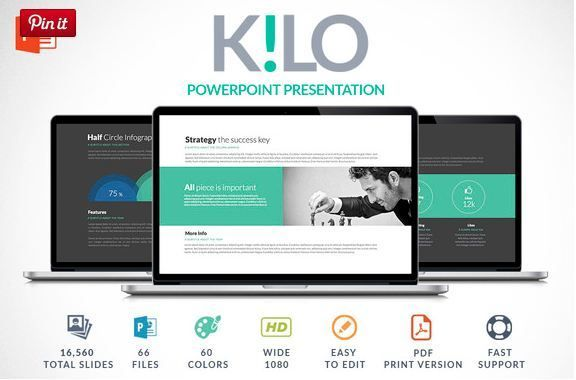 Kilo | PowerPoint Presentation  http://textycafe.com/cool-powerpoint-templates-themes-backgrounds-for-cool-powerpoint-presentations/  #PowerPoint #templates