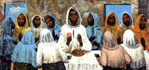 17 best images about the art of geoffrey holder on - Last supper 4k ...